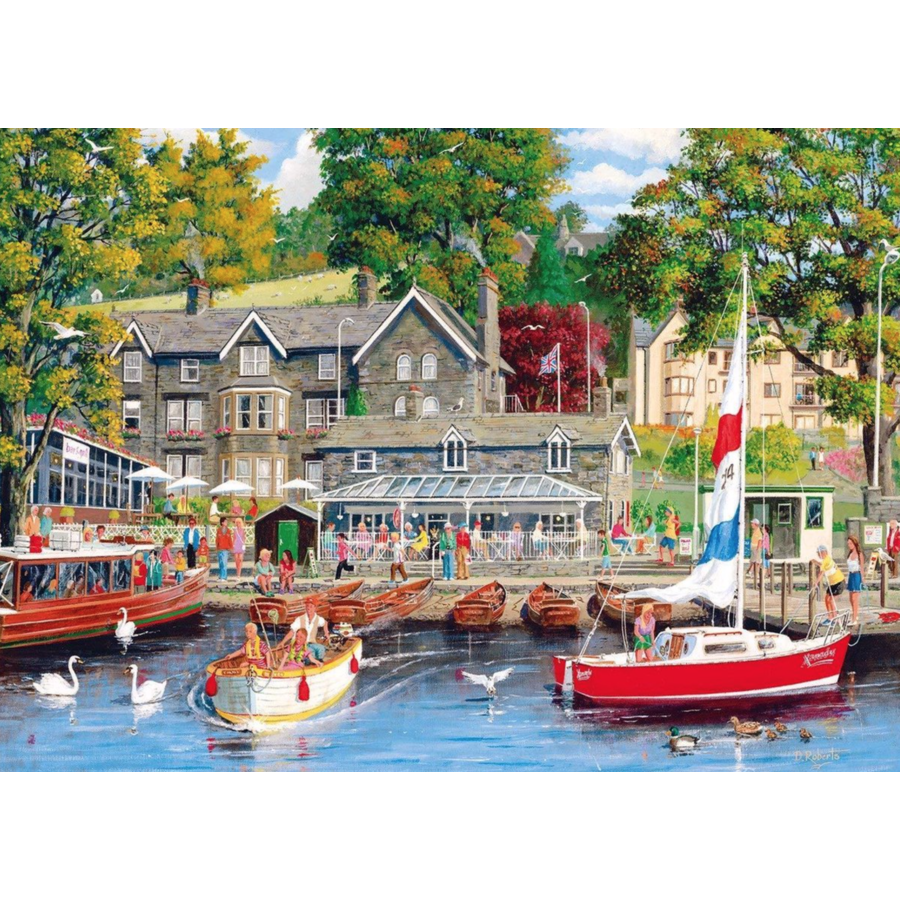 Summer in Ambleside - puzzel van 1000 stukjes-1