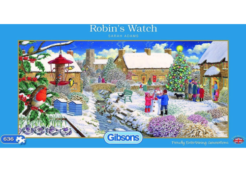 Robin's Watch - 636 stukjes