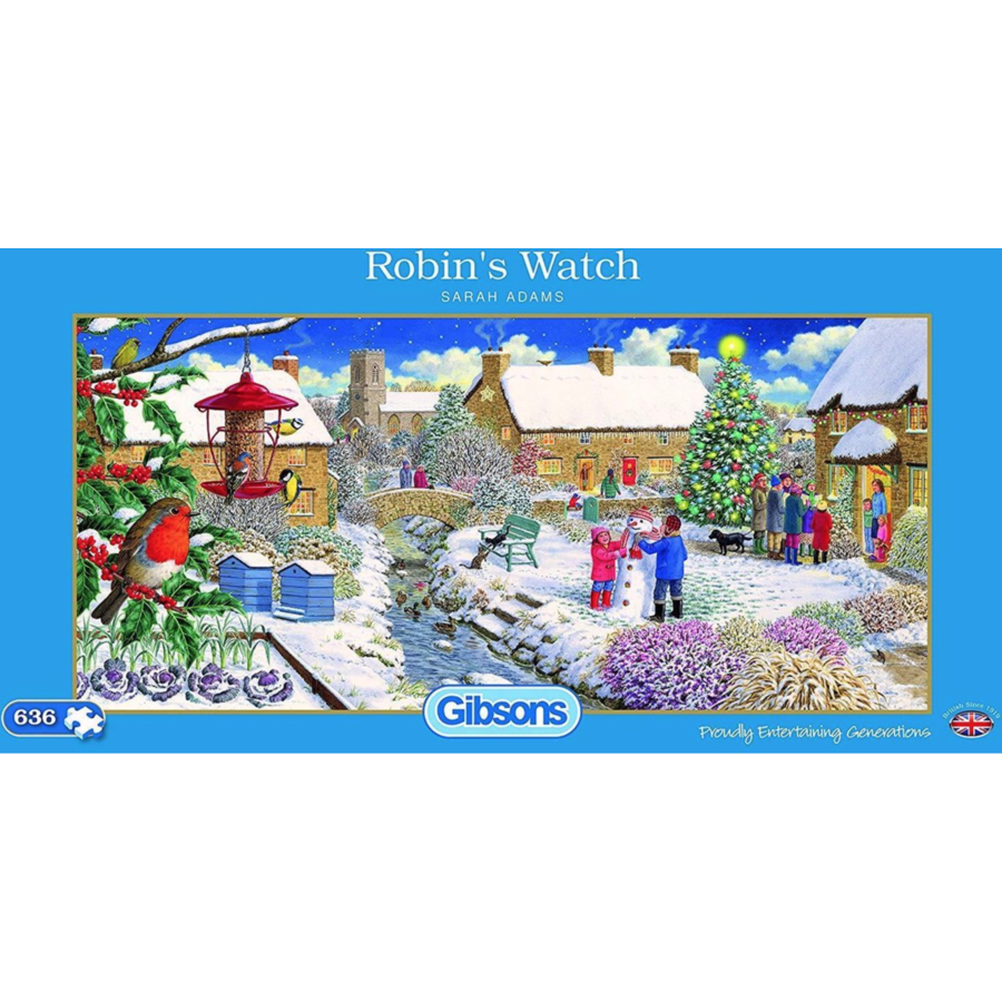 Robin's Watch - 636 stukjes-1