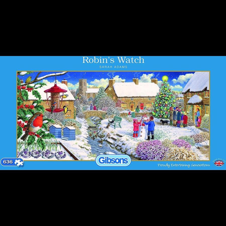 Robin's Watch - puzzle de 636 pièces-1