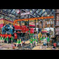 The school outing - puzzel van 500  stukjes