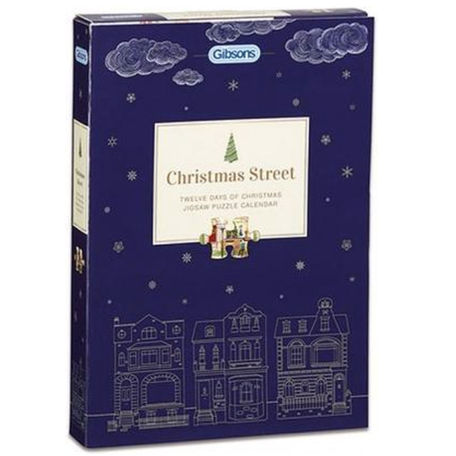 Christmas Street - Adventskalender - 12 x 80 stukjes-2