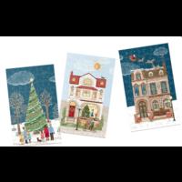 thumb-Rue de Noël - Calendrier de l'Avent - 12 x 80 pièces-3