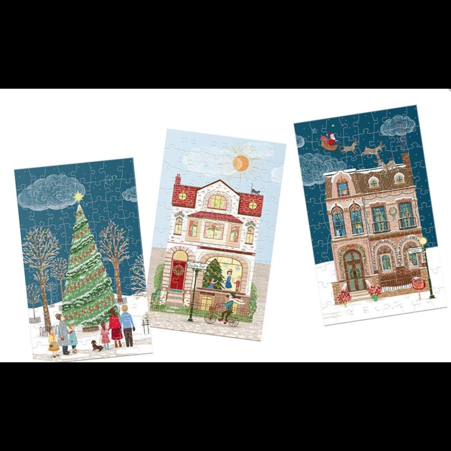 Rue de Noël - Calendrier de l'Avent - 12 x 80 pièces-3