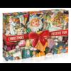 Gibsons Christmas Festive Fun - puzzel van 1000 stukjes