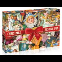 thumb-Christmas Festive Fun - puzzel van 1000 stukjes-1