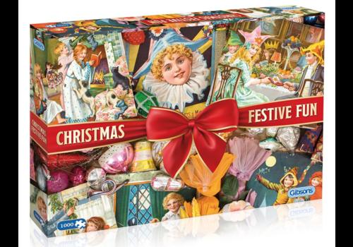 Christmas Festive Fun  - 1000 pieces