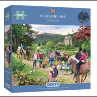 thumb-Wandeling in de Schotse hoogland - puzzel van 1000 stukjes-1