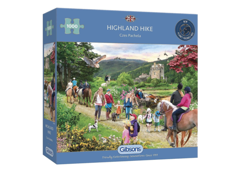 Gibsons Highland Hike - 1000 pieces