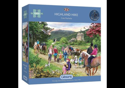 Wandeling in de Schotse hoogland - 1000 stukjes