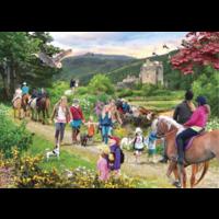 thumb-Wandeling in de Schotse hoogland - puzzel van 1000 stukjes-2