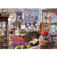 thumb-Abbey's Antiekwinkel- puzzel van 1000 stukjes-2