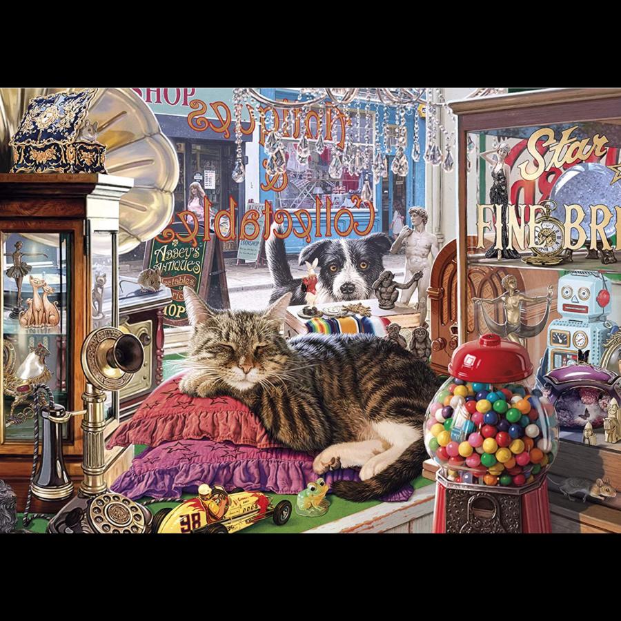 Abbey's Antiekwinkel- puzzel van 1000 stukjes-2