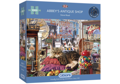 Gibsons Abbey's Antique Shop - 1000 pieces