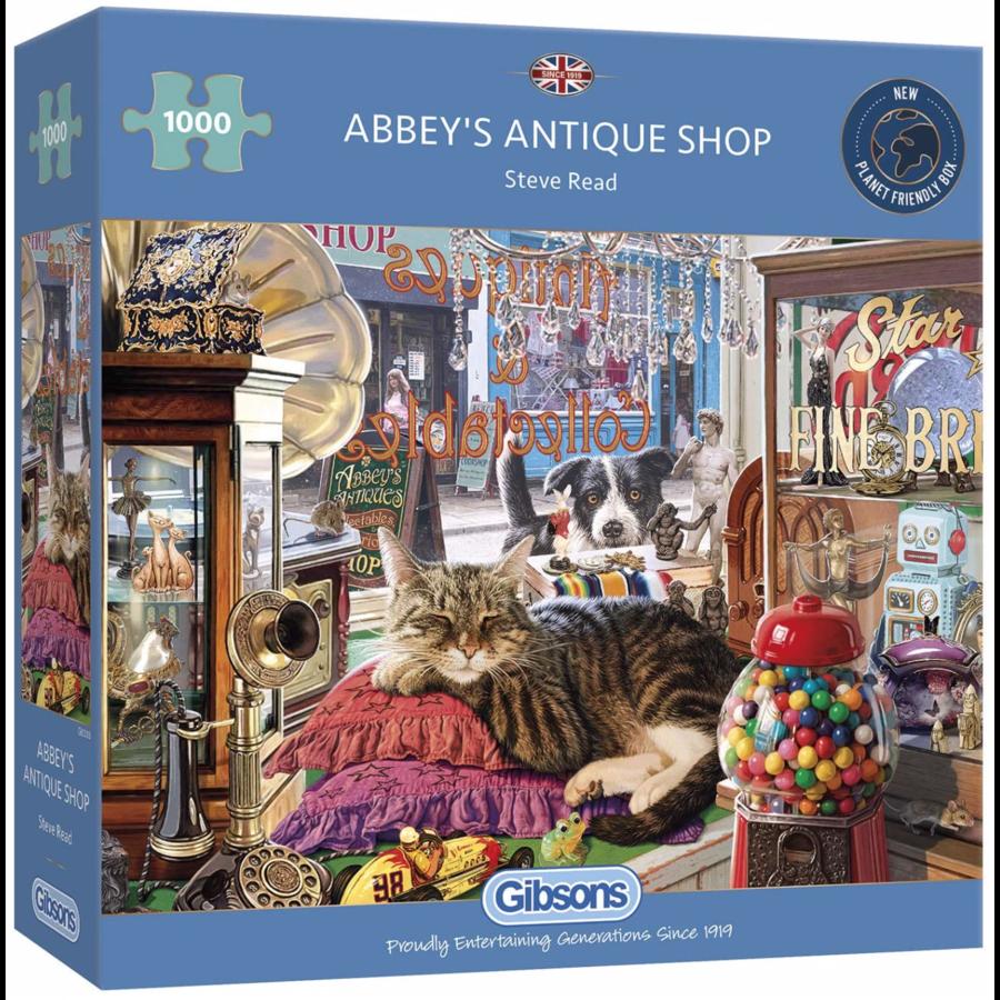 Abbey's Antiekwinkel- puzzel van 1000 stukjes-1