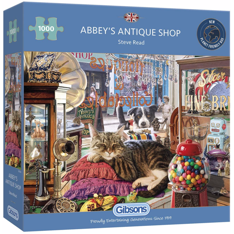 Antiquaire d'Abbey  - puzzle de 1000 pièces-1