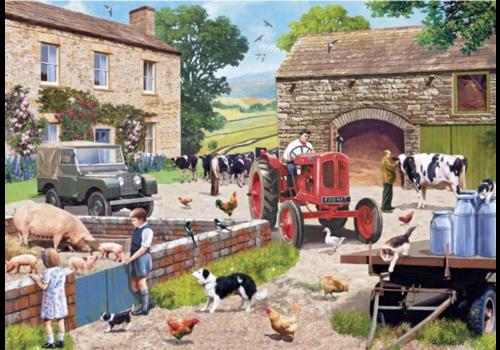 Leven op de boerderij - 1000 stukjes