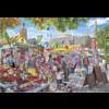 Gibsons Jour de marché à Norwich - puzzle de 1000 pièces