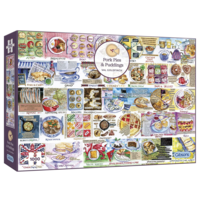 thumb-Pork Pies and Puddings - puzzle de 1000 pièces-1