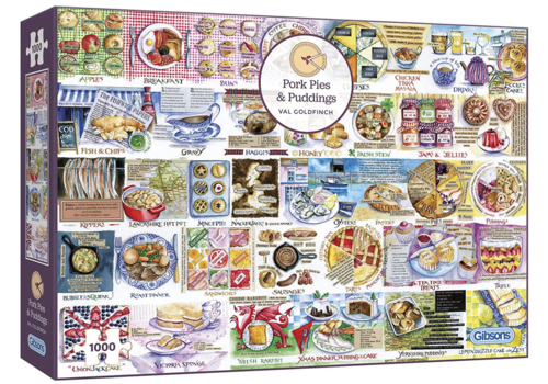 Pork Pies and Puddings - 1000 pieces