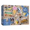 Gibsons The Seaside - jigsaw puzzle of 12 XXL pieces