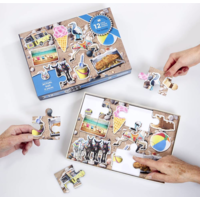thumb-The Seaside - jigsaw puzzle of 12 XXL pieces-3