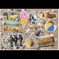 thumb-Le bord de mer - puzzle de 12 XXL pièces-2