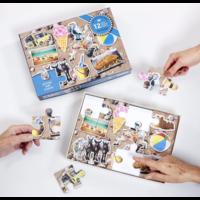 thumb-Katten  - puzzel van 12 XXL stukjes-3