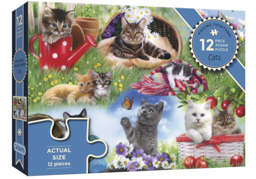 Gibsons Des chats - 12 XXL pièces