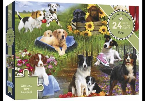 Des chiens - 24 XXL pièces