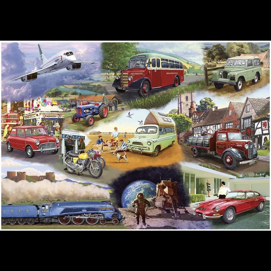 Transport  - puzzel van 24 XXL stukjes-2
