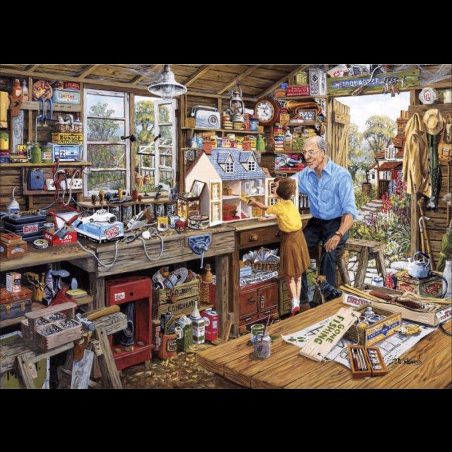 L' atelier du grand-père - puzzle de 40 XXL pièces - Copy-2