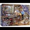 Gibsons Opa's werkplaats - puzzel van 40 XXL stukjes