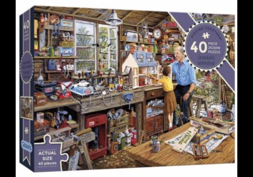 Grandad's workshop - 40 XXL pieces