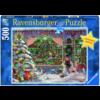 Ravensburger De Kerstwinkel - puzzel van 500 stukjes
