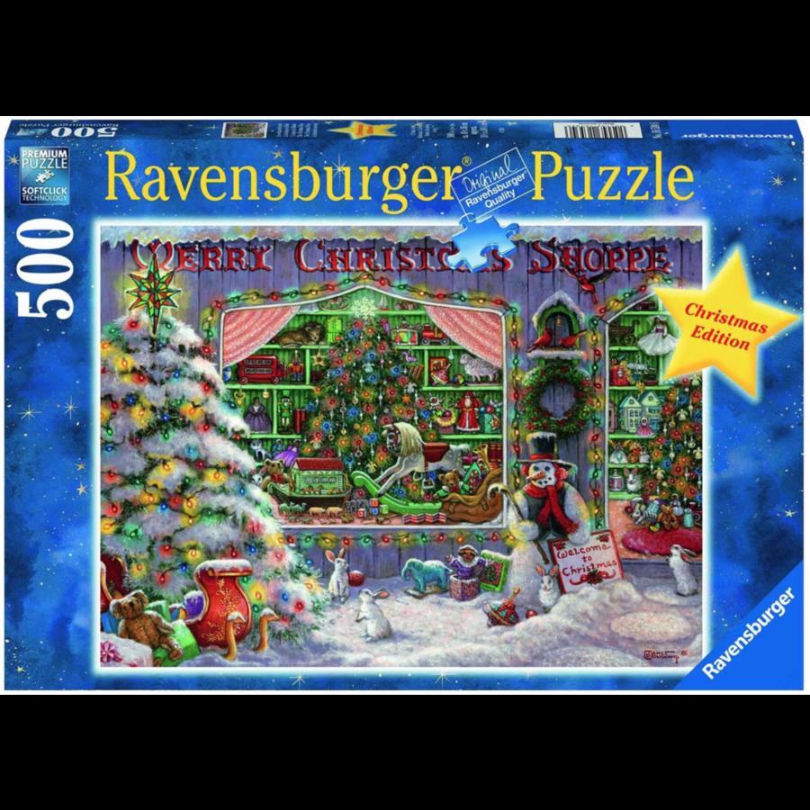 De Kerstwinkel - puzzel van 500 stukjes-1