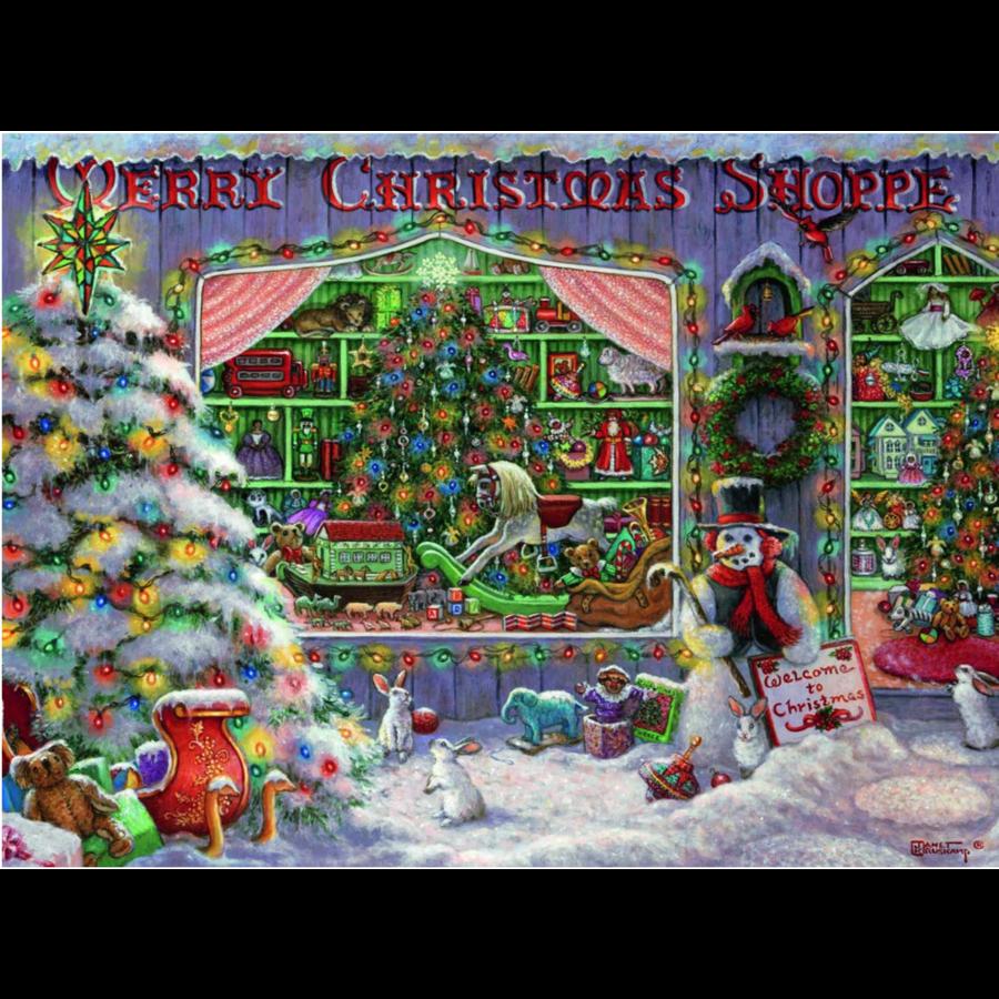 De Kerstwinkel - puzzel van 500 stukjes-2