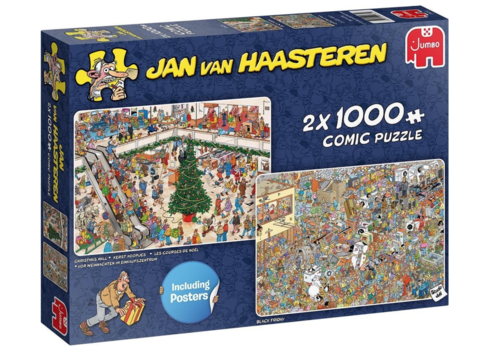 Jumbo Holiday Shopping - JvH - 2x1000 stukjes