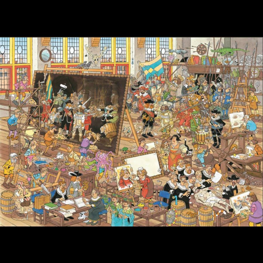 Een dagje naar het museum - JvH - 2 puzzels van 1000 stukjes-2