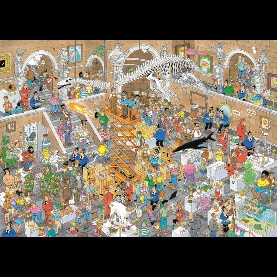 Een dagje naar het museum - JvH - 2 puzzels van 1000 stukjes-3
