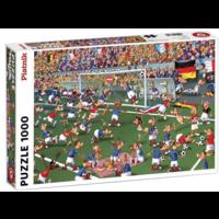 thumb-Football - BD -puzzle de 1000 pièces-1