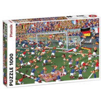 thumb-Voetbal - Comic - puzzel van 1000 stukjes-1