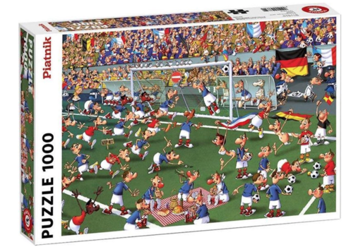 Piatnik Voetbal - Comic - 1000 stukjes