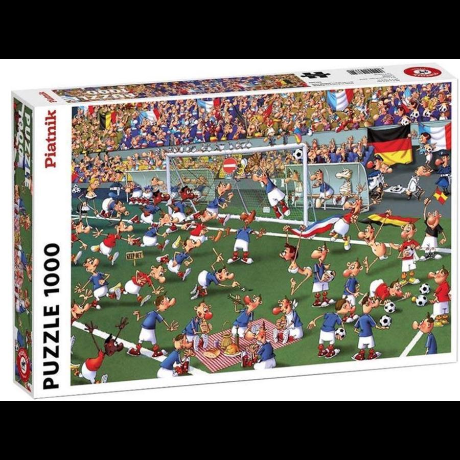 Voetbal - Comic - puzzel van 1000 stukjes-1