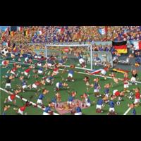 thumb-Voetbal - Comic - puzzel van 1000 stukjes-2