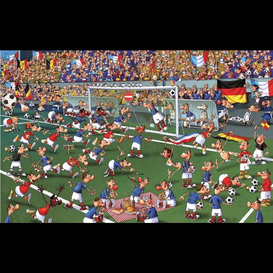 Voetbal - Comic - puzzel van 1000 stukjes-2