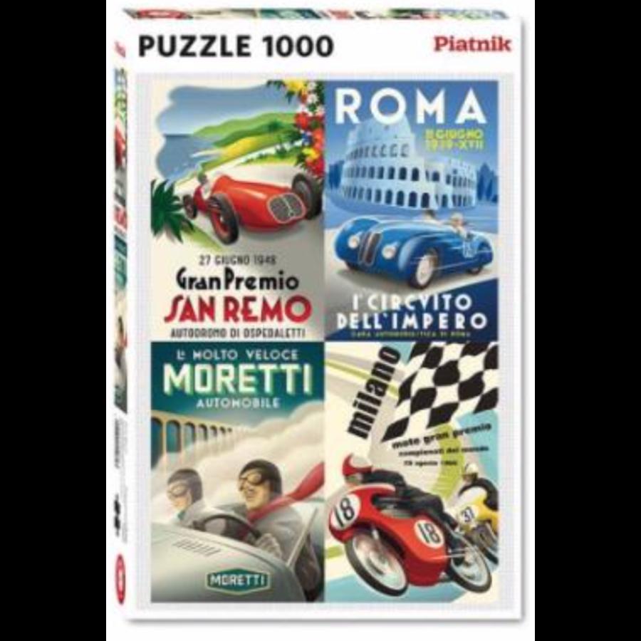 Italiaanse klassiekers - puzzel van 1000 stukjes-2