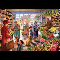 thumb-In de groentewinkel - puzzel van 1000 stukjes-1