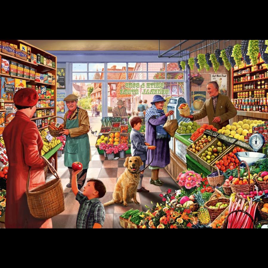 In de groentewinkel - puzzel van 1000 stukjes-1