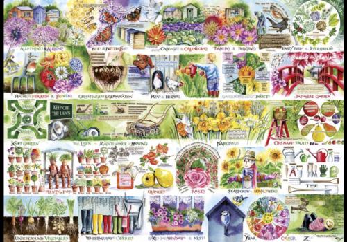 Gibsons Tout pour le jardin - 1000 pièces